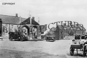 Beaminster, The Square c1945