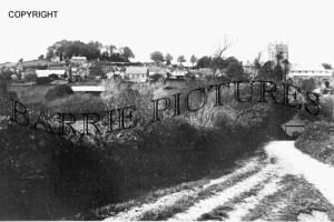 Bere Regis, from Black Hill c1920