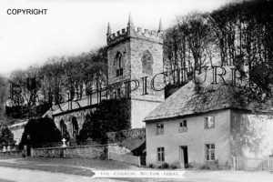 Milton Abbas, Church c1910