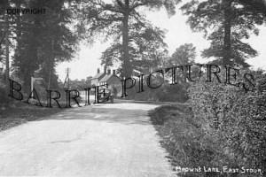 East Stour, Browns Lane c1935