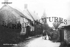 Hinton St Mary, Village c1900