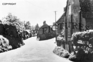 Child Okeford, Shillingstone Road c1950