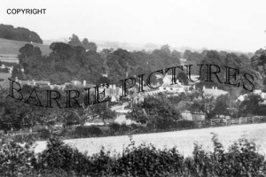 Durweston, from Norton Lane c1930