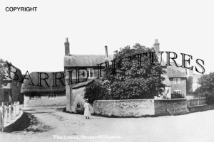 Okeford Fitzpaine, the Cross c1900