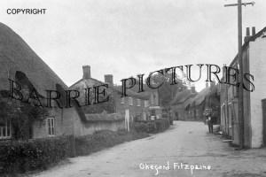 Okeford Fitzpaine, the Village c1910