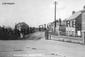 Broadstone, Hillbourne c1910