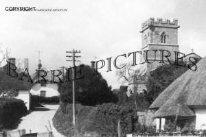 Tarrant Hinton, Church Hill c1920