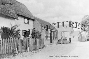 Tarrant Keynston, Post Office c1910