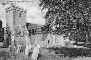 Tarrant Keynston, Church c1910
