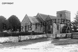 Tarrant Monkton, Church c1930