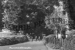 Witchampton, Pound Hill c1910