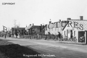 Ferndown, Ringwood Road c1930