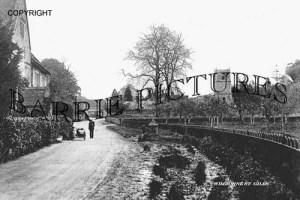 Wimborne St Giles, Village c1910