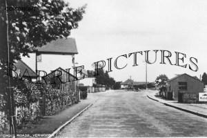 Verwood, Cross Roads c1930