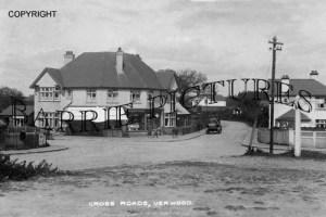 Verwood, Cross Roads c1935
