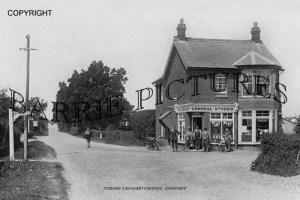 Three Legged Cross, The General Stores c1930