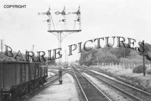 West Moors, Station c1960