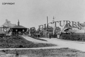 West Moors, Railway Station c1950