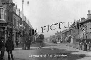 Swindon, Commercial Road c1910