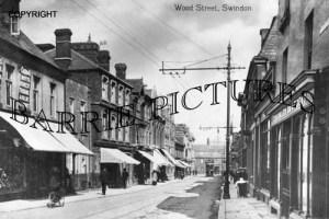 Swindon, Wood Street c1920