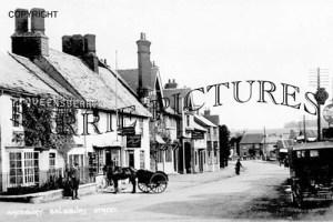 Amesbury, Salisbury Street c1920