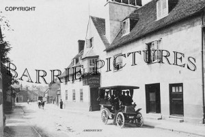 Amesbury, George Hotel c1910
