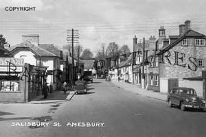 Amesbury, Salisbury Street c1950
