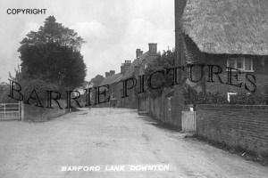 Downton, Barford Lane c1905
