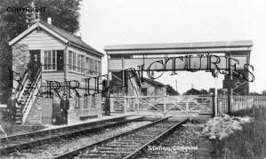 Codford, Station c1910