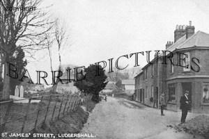 Ludgershall, St James Street c1920