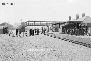 Ludgershall, Station c1915