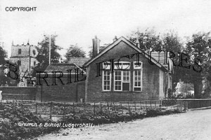 Ludgershall, Church and School c1910