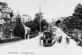 Boscombe, Christchurch Road c1900