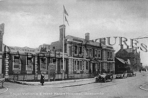 Boscombe, Royal Victoria & West Hants Hospital c1920
