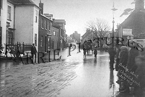 Christchurch, Bridge Street Jan 1915