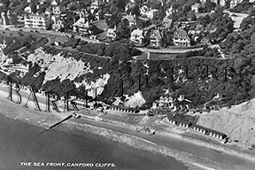 Canford Cliffs, The Sea Front c1935