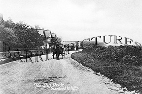 Canford Cliffs, The Cliff Drive c1910