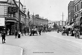 Westbourne, Seamoor Road c1905