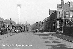 Parkstone, Sea View Road c1930