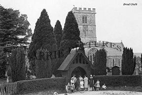 Broad Chalk, Church c1920