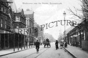 Westbourne, Near The Arcade c1905