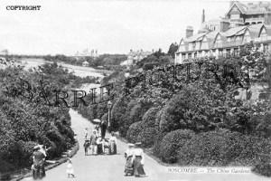 Boscombe, The Chine Gardens c1905