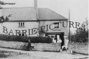 Ashcott, Post Office c1920