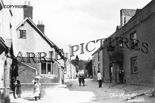 Banwell, High Street c1915