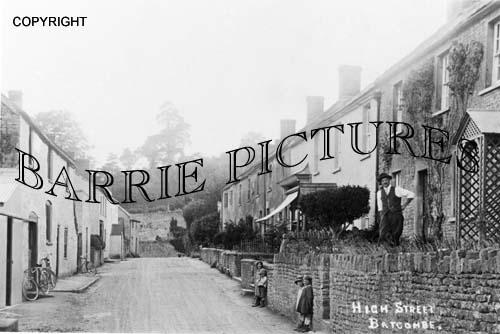 Batcombe, High Street c1910