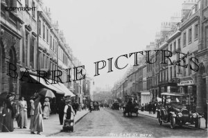 Bath, Milsom Street c1930
