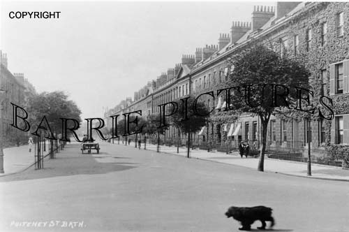 Bath, Pulteney Street c1930