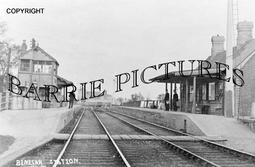Binegar, The Station c1910