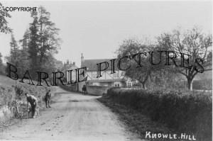 Bawdrip, Knowle Hill c1900