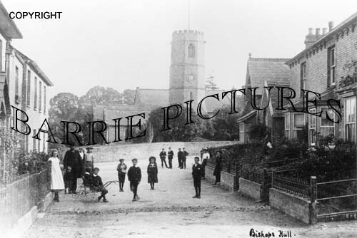 Bishops Hull, Church c1910